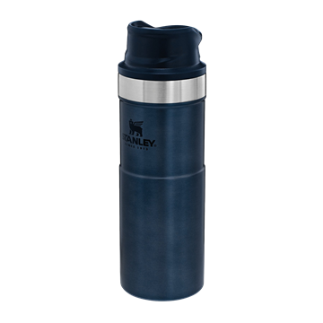 Stanley The Classic Trigger-Action Travel Mug 0,47L, Nightfall Modra, Vakuumsko